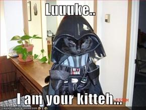 Luuuke..   I am your kitteh...
