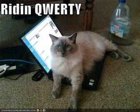 Ridin QWERTY
