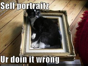 Self portraitz  Ur doin it wrong