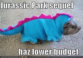 Jurassic Park sequel  haz lower budget