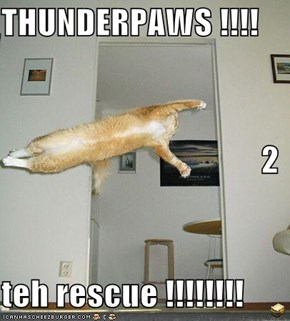 THUNDERPAWS !!!! 2 teh rescue !!!!!!!!