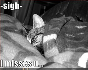 -sigh-  i misses u...