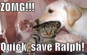 ZOMG!!!  Quick, save Ralph!