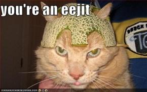 you're an eejit