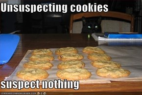 Unsuspecting cookies                                  suspect nothing