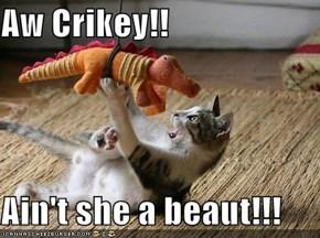Aw Crikey!!  Ain't she a beaut!!!
