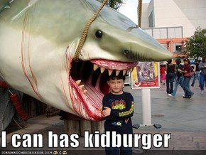 I can has kidburger