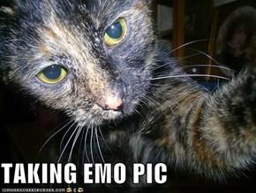 TAKING EMO PIC