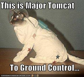 This is Major Tomcat  To Ground Control...