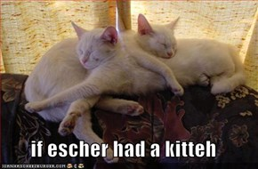 if escher had a kitteh