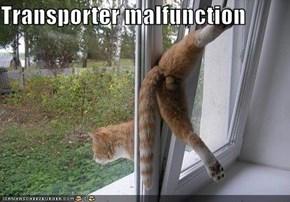 Transporter malfunction