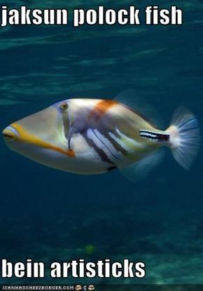 jaksun polock fish  bein artisticks