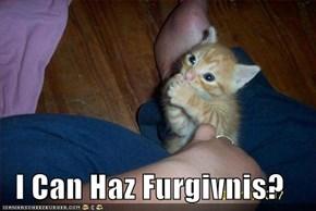 I Can Haz Furgivnis?