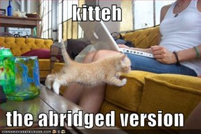 kitteh  the abridged version