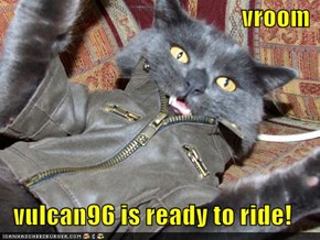 vroom  vulcan96 is ready to ride!