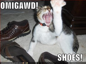 OMIGAWD!  SHOES!