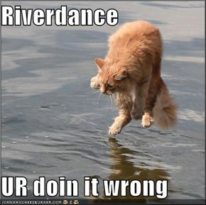 Riverdance  UR doin it wrong