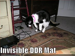 Invisible DDR Mat