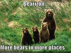Bearizon:  More bears in more places