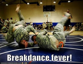 Breakdance fever!