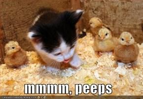 mmmm, peeps