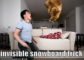 invisible snowboard trick