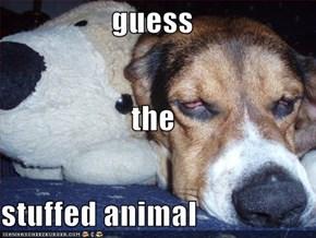 guess the stuffed animal