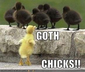GOTH CHICKS!!