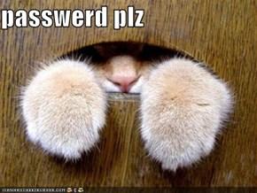 passwerd plz