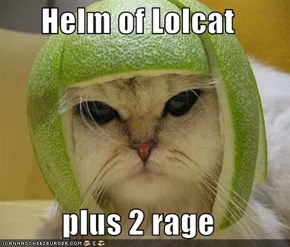 Helm of Lolcat  plus 2 rage