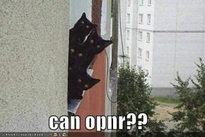 can opnr??