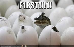 F1RST!!!1!