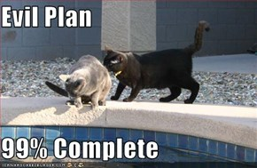 Evil Plan  99% Complete