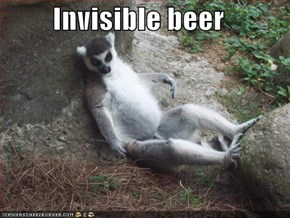 Invisible beer