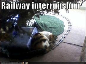 Railway interrupshun