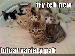 try teh new  lolcat variety pak
