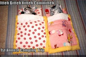 Itteh Bitteh Kitteh Committeh  1st Annual Camping Trip