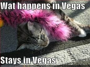 Wat happens in Vegas  Stays in Vegas