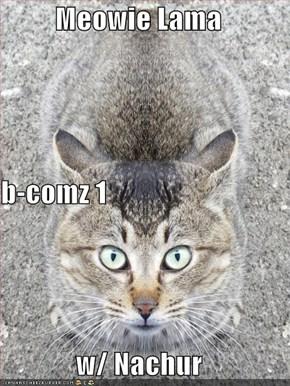 Meowie Lama b-comz 1 w/ Nachur