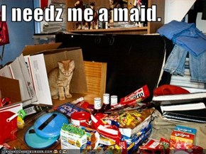 I needz me a maid.