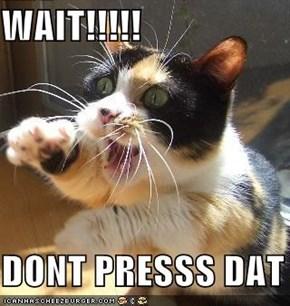 WAIT!!!!!  DONT PRESSS DAT