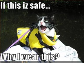 If this iz safe...  Why I wear this?