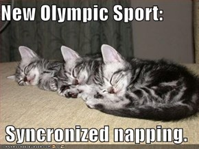 New Olympic Sport:  Syncronized napping.