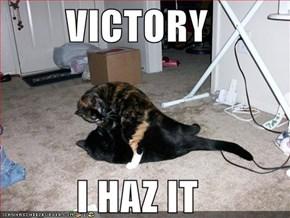 VICTORY  I HAZ IT