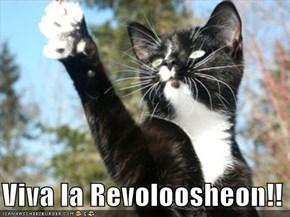 Viva la Revoloosheon!!