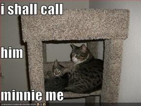 i shall call him minnie me