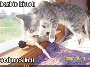 barbie kitteh  seduces ken