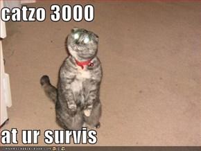 catzo 3000  at ur survis