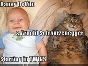 Danny DeVito               & Arnold Schwarzenegger Starring in TWINS