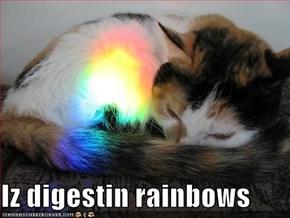 Iz digestin rainbows